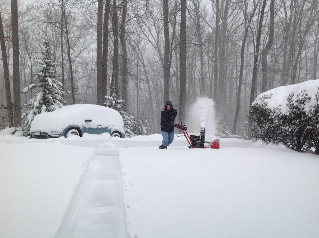 snow blower Charlottesville